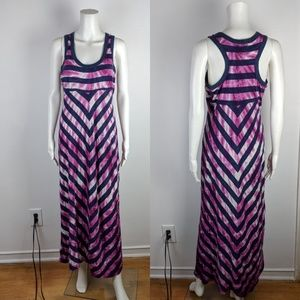 Preloved Amazing Tie Dye Maxi Dress by Pete